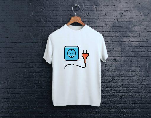мъжка тениска kontakt