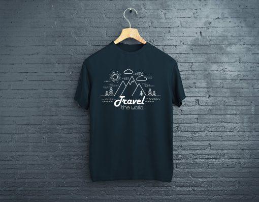 мъжка тениска travel