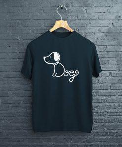 мъжка тениска doggy