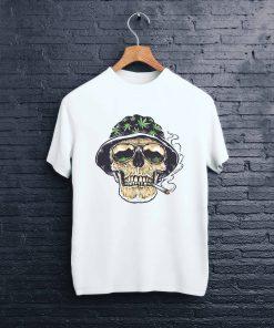 мъжка тениска skull