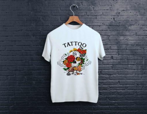 мъжка тениска tattoo vintaage