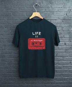 мъжка тениска vintage kasetka black