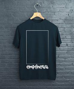мъжка тениска emptiness