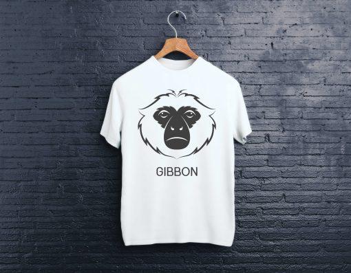 мъжки тениски gibon white