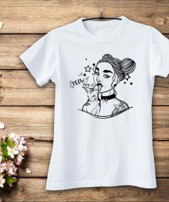 дамска тениска GIRL CAT