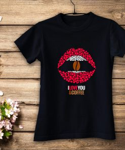 дамска тениска I LOVE COFFE