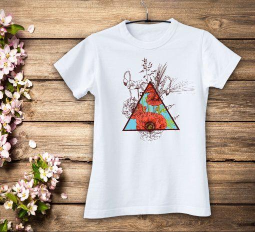 дамска тениска cvetia triugalnik