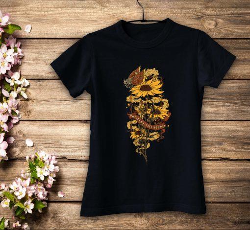 дамска тениска sunflower black