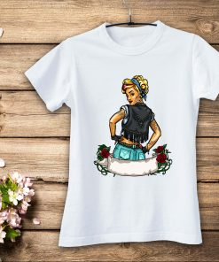 дамска тениска vintage girl