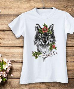 дамска тениска wolf