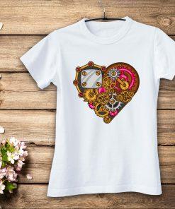 дамска тениска mehanical heart