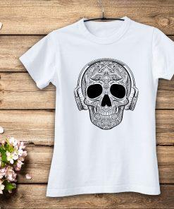 дамска тениски music skull