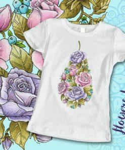 дамска тениска с щампа