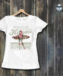 Дамска тениска с принт surfing
