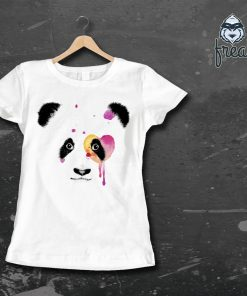 Дамска тениска с щампа Панда