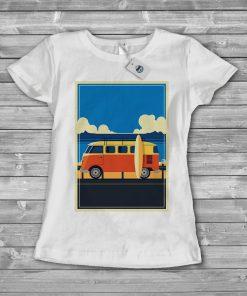 Дамска тениска Bus