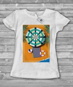Дамска тениска beach 2