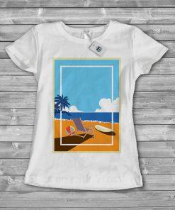 Дамска тениска beach 3