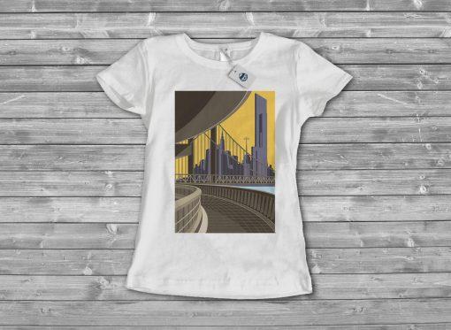 Дамска тениска city 1