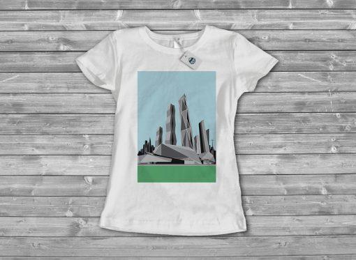 Дамска тениска city 12