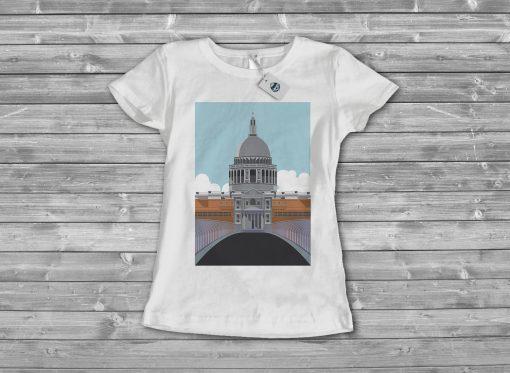Дамска тениска city 2