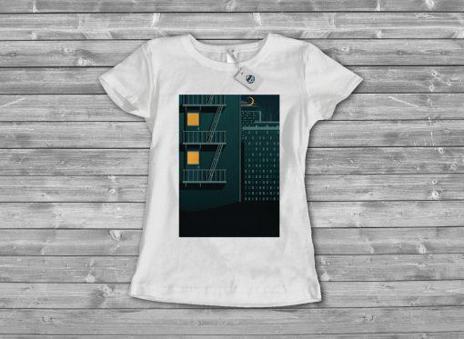 Дамска тениска night 2