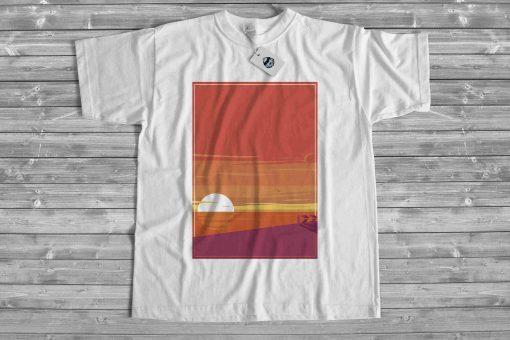 Мъжка тениска sunset