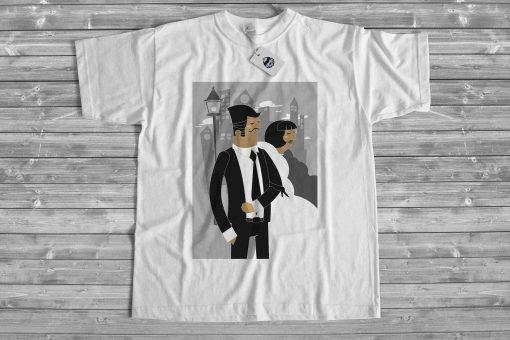 Мъжка тениска wedding