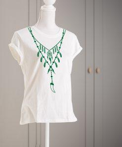 дамска тениска с печат necklace 4