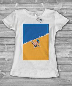 дамска тениска плаж