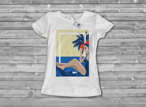 дамска тениска beach 4