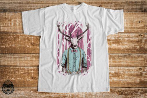 мъжка тениска мъжка тениска deer