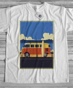 мъжка тениска bus