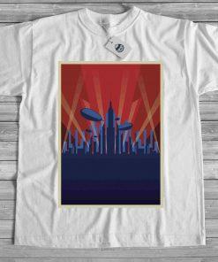 мъжка тениска city lights