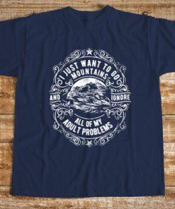 мъжка тениска i want to go mountains