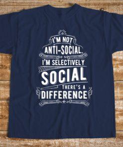 мъжка тениска im not anti-social