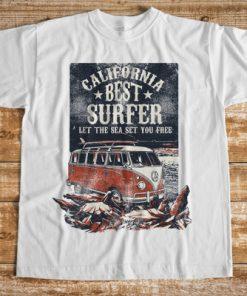 мъжка тениска let the sea set you free