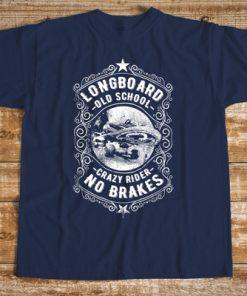 мъжка тениска longboard crazy rider