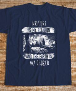 мъжка тениска nature is my religion