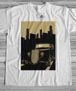 мъжка тениска old mobile city