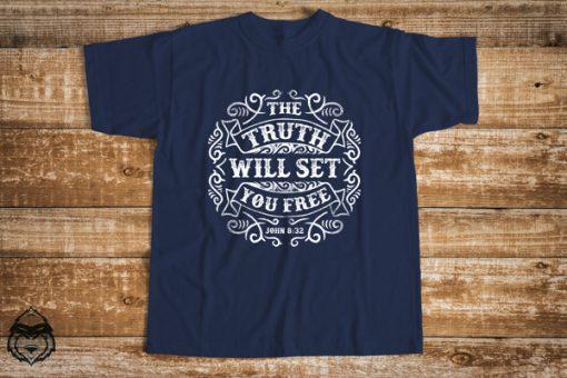 мъжка тениска the truth will set you free