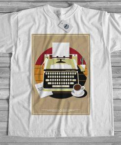 мъжка тениска typewriter