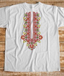 мъжка тениска с печат пазва 1