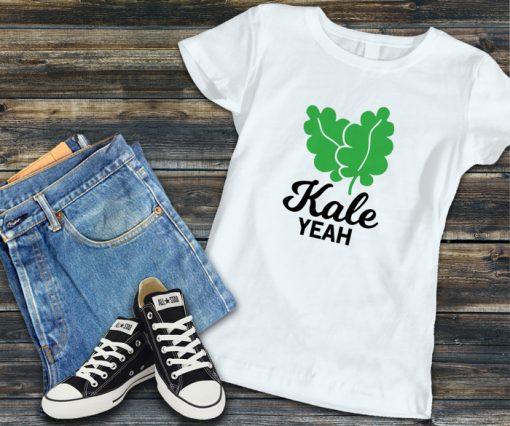 дамска тениска kale yeah