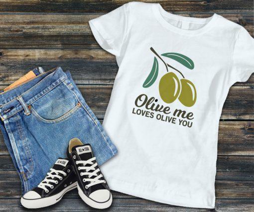 дамска тениска olive me