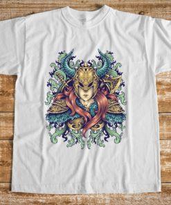 мъжка тениска warrior goddes
