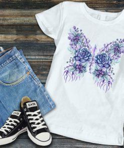 flower butterfly1
