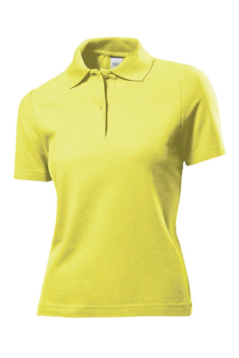 9ababebd3e5 дамска тениска с яка yellow - Freak-bg.com