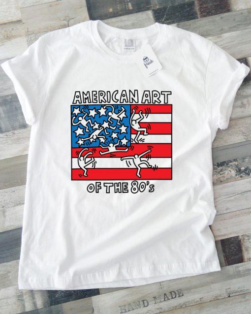 унисекс тениска american art