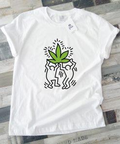 унисекс тениска Keith Haring weed